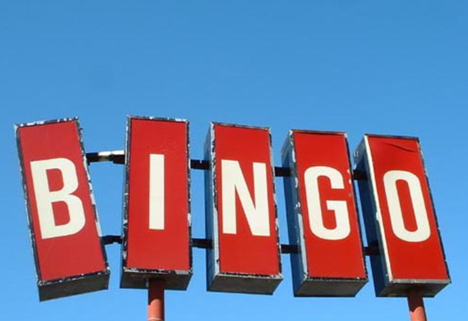 Image of a bingo sign