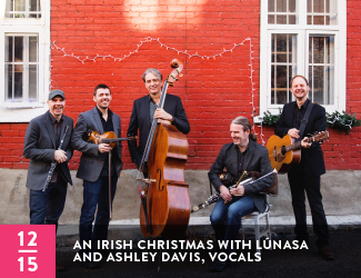 thumbnail for An Irish Christmas with Lúnasa and Ashley Davis, vocals