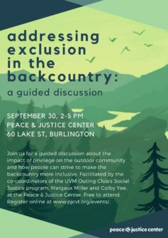 thumbnail for Guided Discussion: Addressing Exclusion in the Backcountry