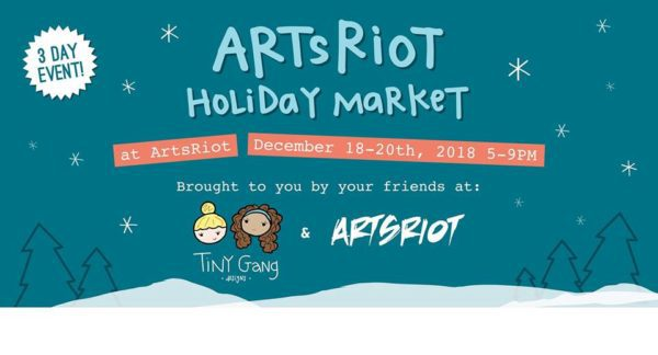 thumbnail for ArtsRiot Holiday Market