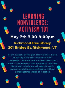 thumbnail for Learning Nonviolence: Activism 101