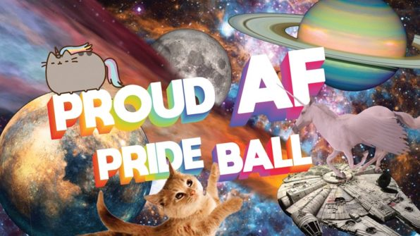 thumbnail for Proud AF Pride Ball