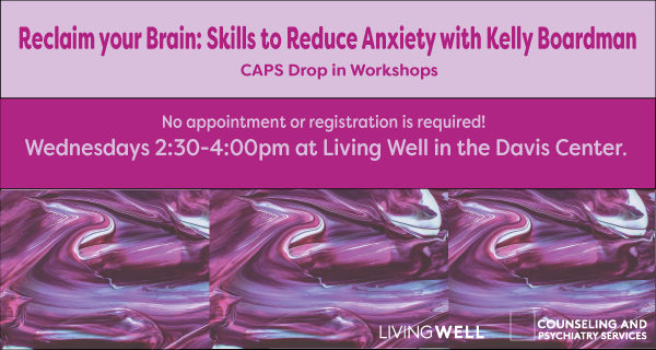 thumbnail for Reclaim Your Brain: Skills to Reduce Anxiety with Kelly Boardman