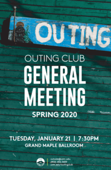 thumbnail for Outing Club General Meeting