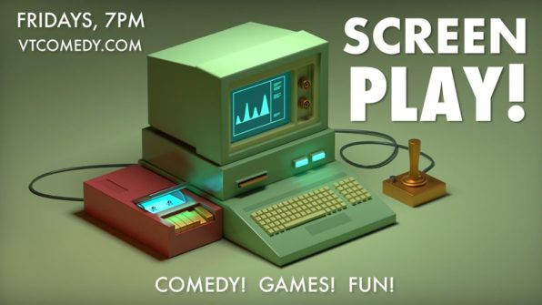 thumbnail for Screen Play! Improv Comedy Show