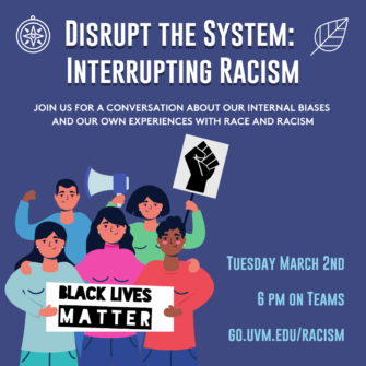 thumbnail for L&SC & SUS: Disrupt the System: Interrupting Racism
